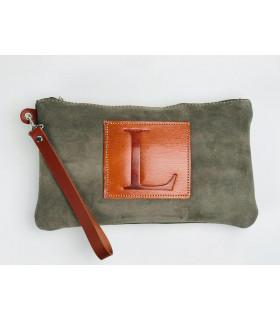 Wristlet Leather bag