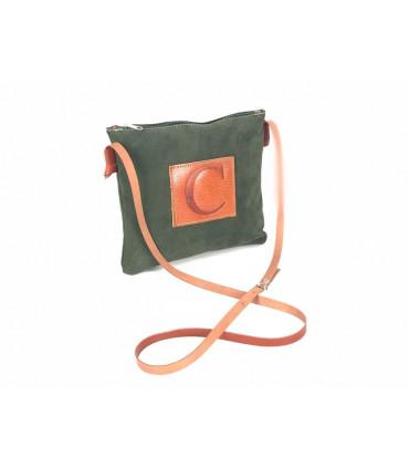 Flat Leather bag