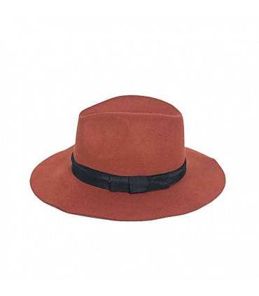 Hat with side adornment