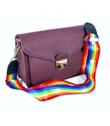 Asa extraíble multicolor para bolsos