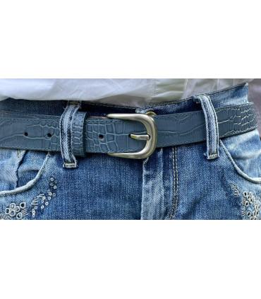 Cinturón de piel diseño coco
