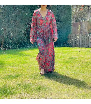 Vestido largo Bohemio estilo indio