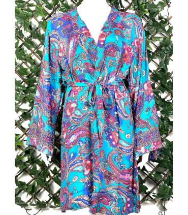 Handmade Printed Kimono