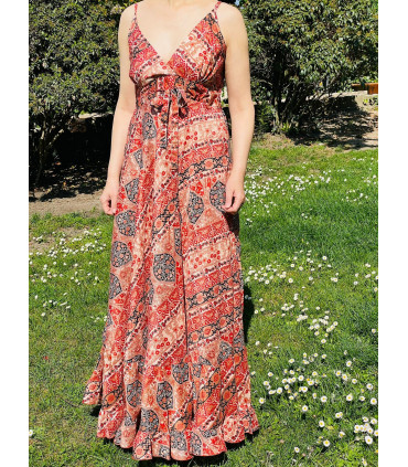 Boho chic style Ethnic Dress