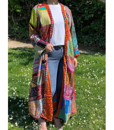 Handmade patchwork Kimono