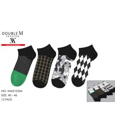 Calcetines estampados para hombre