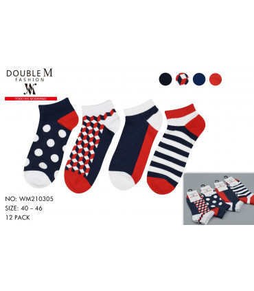 Calcetines multicolor para hombre