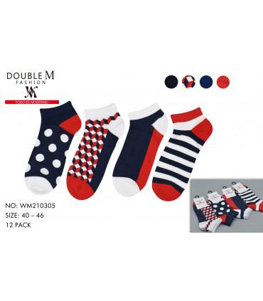 Printed socks for men