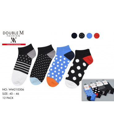 Printed socks mixed pack