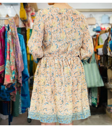 Bohemian Indian style short dress