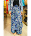 Wide leg trousers Indian style print