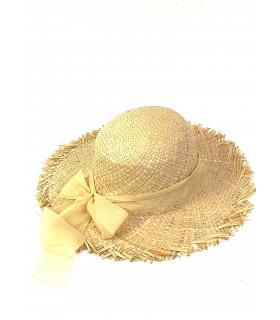 Sombrero de paja para mujer