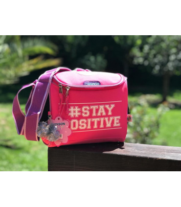"""""""Stay Positive"""" Insulated Lunch bag"""