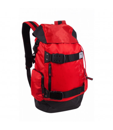 Travel backpack with flap
