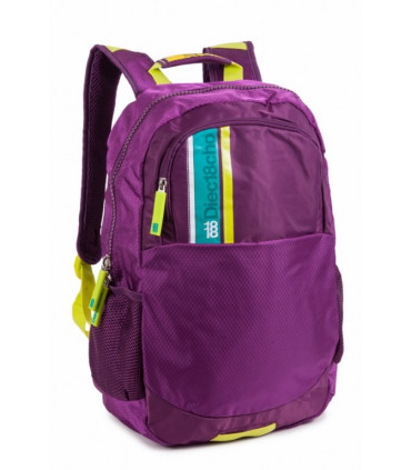 Nylon school and travel backpack