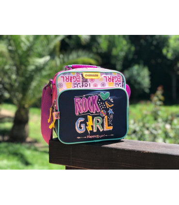 """""""Rock Girl"""" Insulated Lunch bag"""