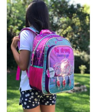 """""""Be Strong"""" School Backpack"""