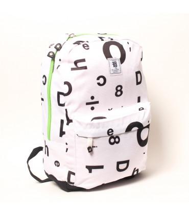 Nylon School backpack