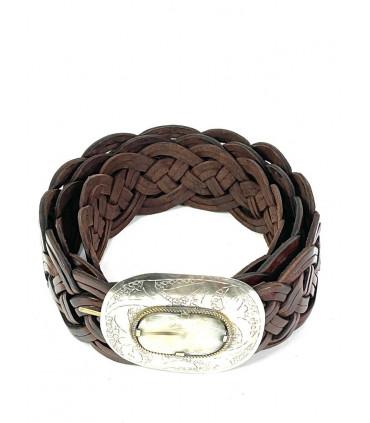 Cinturón de piel artesanal Mediano