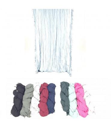 Criss-cross scarves