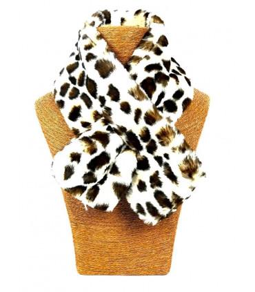 Animal print neckwear