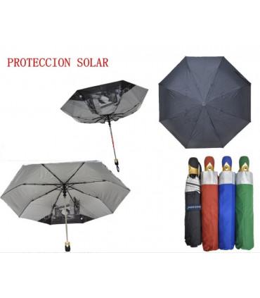 Paraguas corto con protección Solar