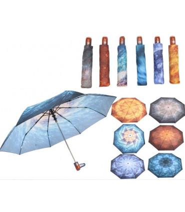 Paraguas corto Galaxias