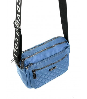 Nylon crossbag with two compartments