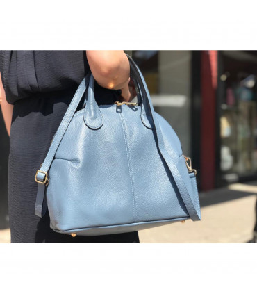 Halfmoon italian Leather bag