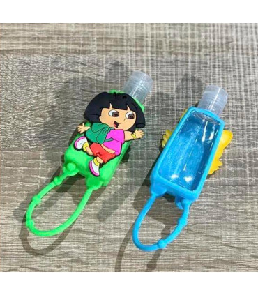 Keychains for hydroalcoholic gel