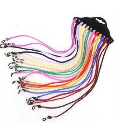 Kit 12 Cordones de mascarilla colores surtidos