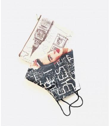 Kit bolsas de lino para mascarillas.