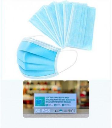 Box of 50 disposable masks