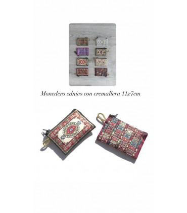Cotton bohemian purse